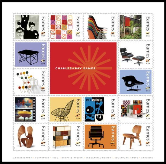This Just In: USPS to Release Charles & Ray Eames Stamps