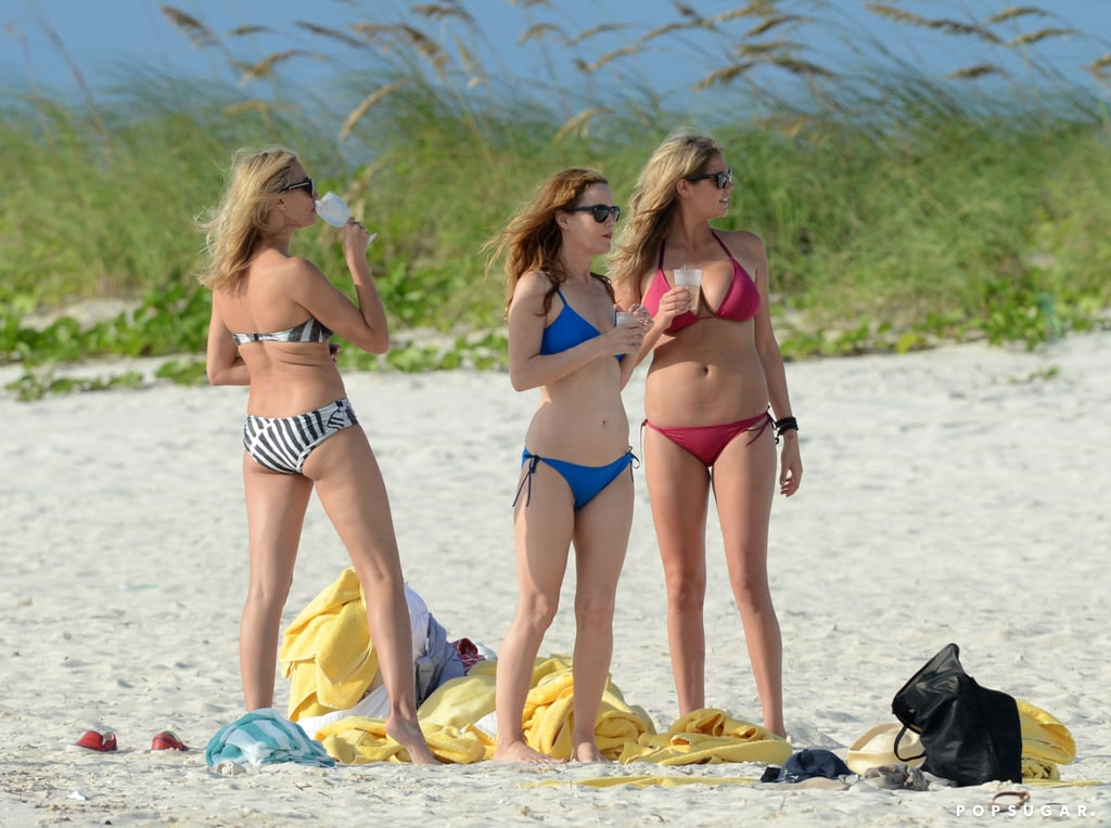 Cameron Diaz, Kate Upton, and Leslie Mann spent time in the Bahamas together on the set of The Other Woman.
