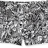 These Aéropostale black-and-white printed shorts ($14, originally $43) would come to life with anything bright: tops, sandals, jewels, etc.