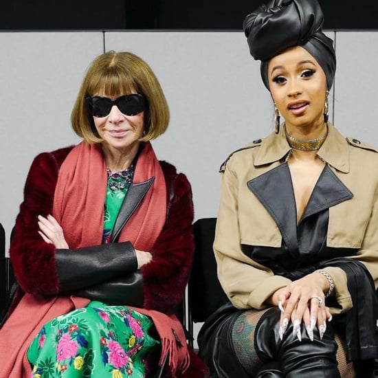 Anna Wintour and Cardi B at the Alexander Wang Show
