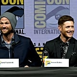 Jensen Ackles and Jared Padalecki at Comic-Con 2018
