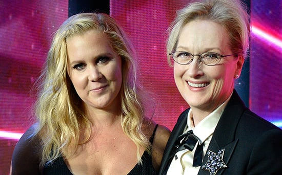 FROM EW: Meryl Streep Could See Amy Schumer Playing Her in a Biopic