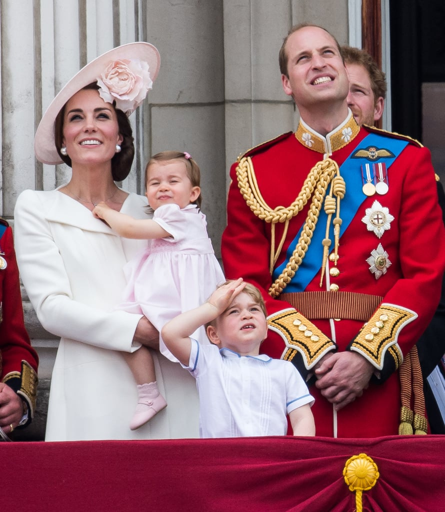 Kate and Will showed off their sweet family when they were joined by Prince George and Princess Charlotte at Trooping the Colour in June.