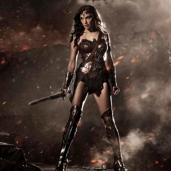 Gal Gadot Wonder Woman Uniform