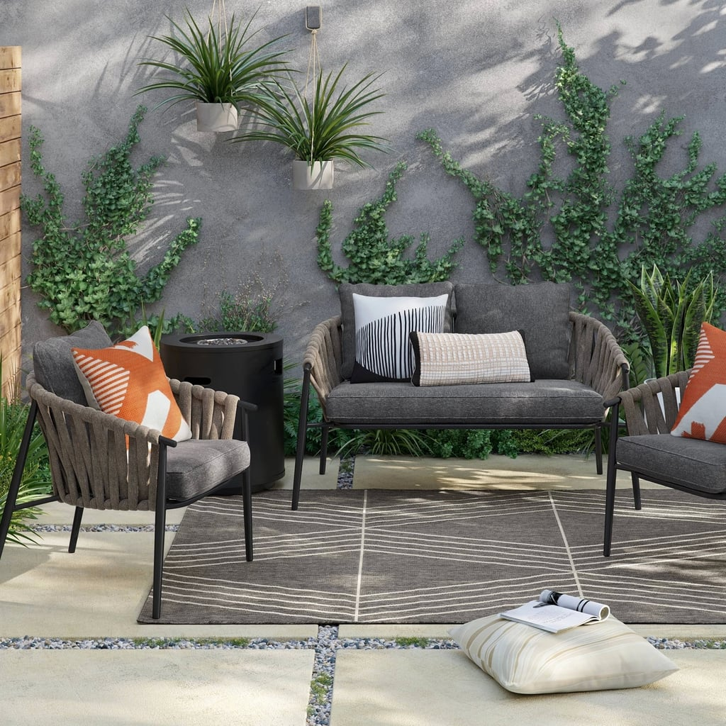 Casson 4-Piece Patio Fire Conversation Set