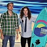 Dax Shepard and Shaun White