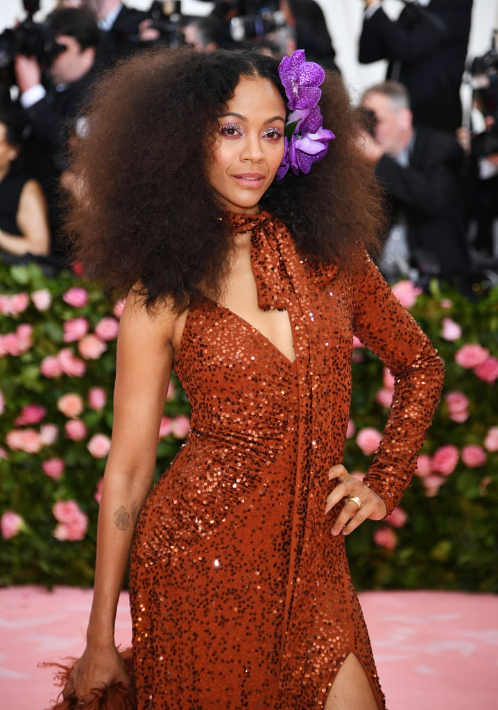 Zoe Saldana at Met Gal...
