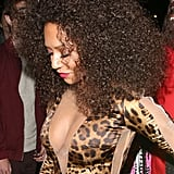 Mel B was a leopard lady at a Halloween party in London in 2014.
