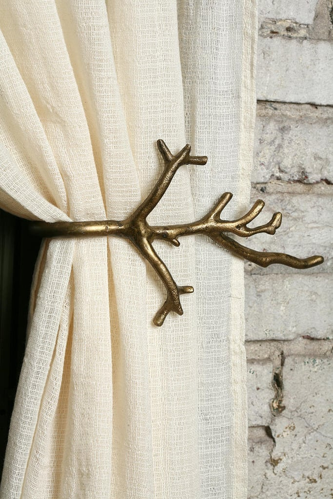 It's all in the details. This branch curtain tie-back ($14) will add an element of sophistication to any room.