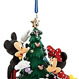 Mickey and Minnie Mouse Holiday Ornament ($19)