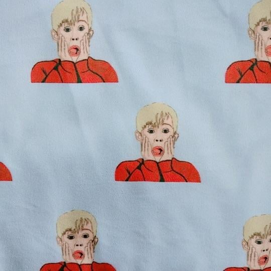 "The Kevin McCallister ""Ahh!"" Face Design on the Pants"