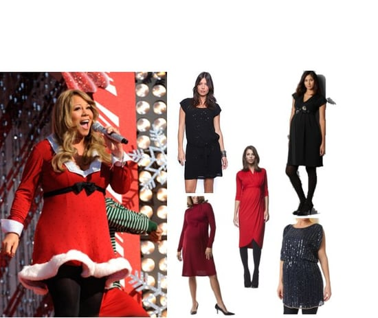 Holiday Maternity Dresses