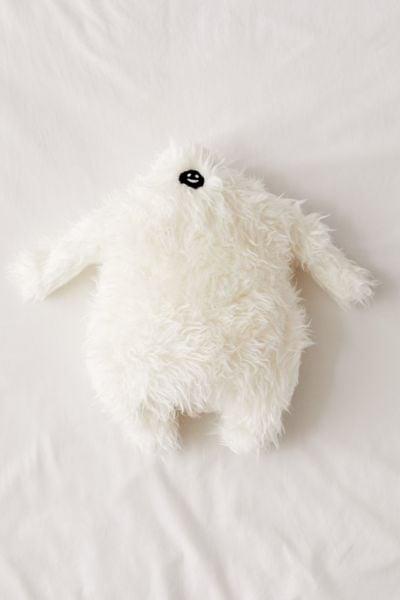 Friendly Yeti Throw Pillow