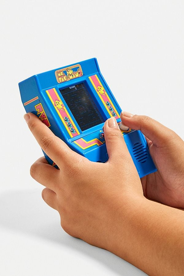 Handheld Ms. Pac-Man Arcade Game