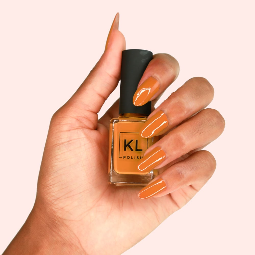 KL Polish in Caramello | Kathleen Lights KL Polish | POPSUGAR Beauty ...