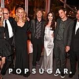 Pictured: Georgia May Jagger, Rupert Murdoch, Jerry Hall, Mick Jagger, Elizabeth Jagger, James Jagger, and Lachlan Murdoch