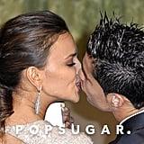 Cristiano Ronaldo and Irina Shayk got close at the November 2011 Marie Claire Prix de la Mode Awards in Madrid.
