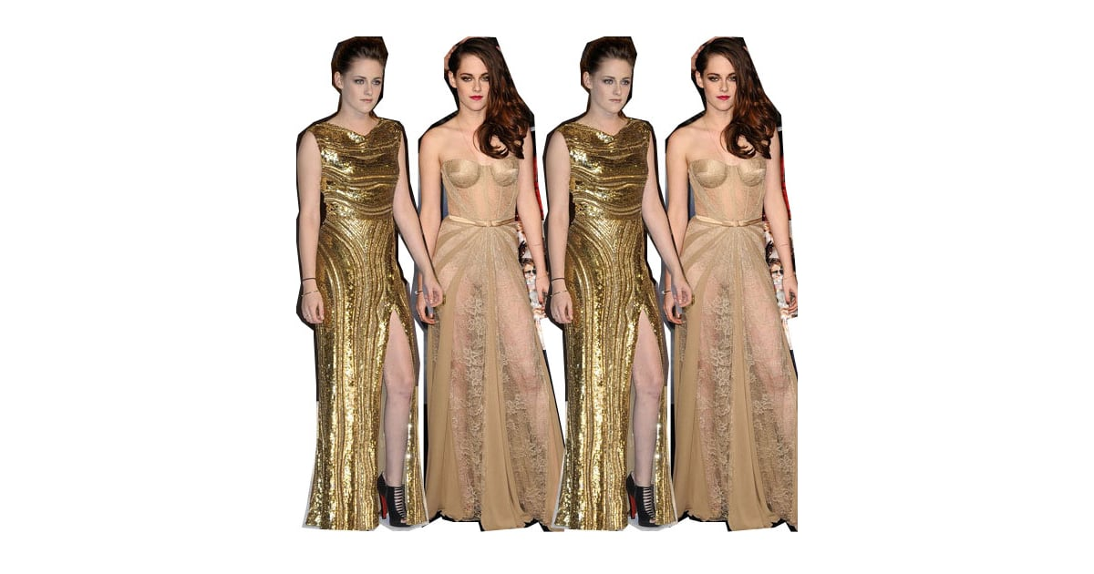 Nail the Look: Kristen Stewart in Gold for Breaking Dawn