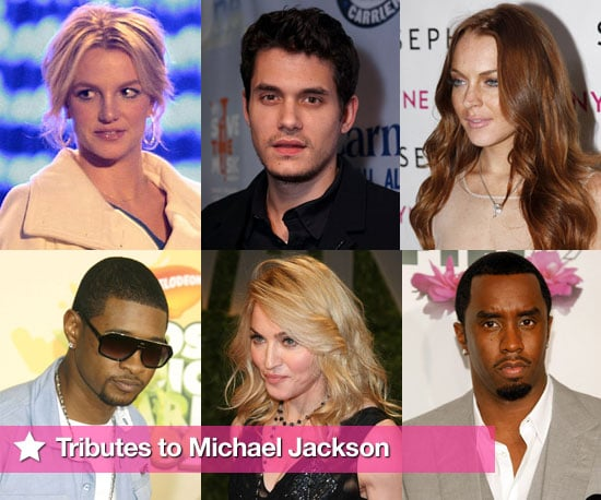 Celebrities' Tributes to Michael Jackson Following News of His Death, Including Britney Spears, Madonna and Justin Timberlake