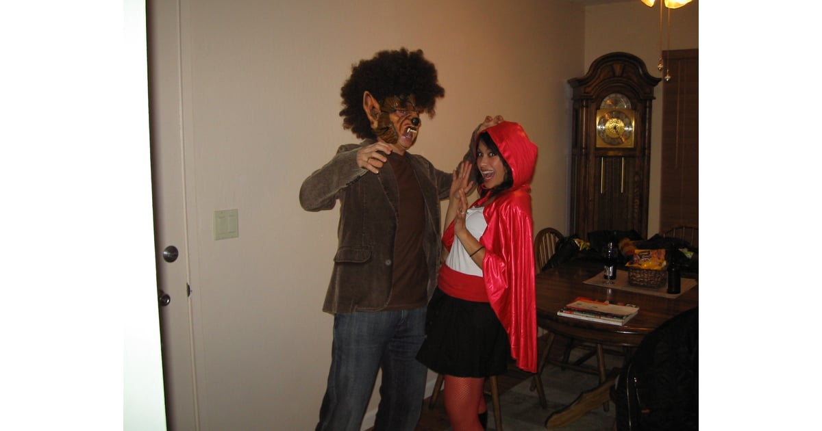 Wolf And Little Red Riding Hood  Homemade Halloween Couples Costumes  Popsugar Love -9418