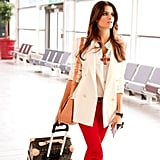 These three outfits will keep you  effortlessly chic and comfortable on your long flight.