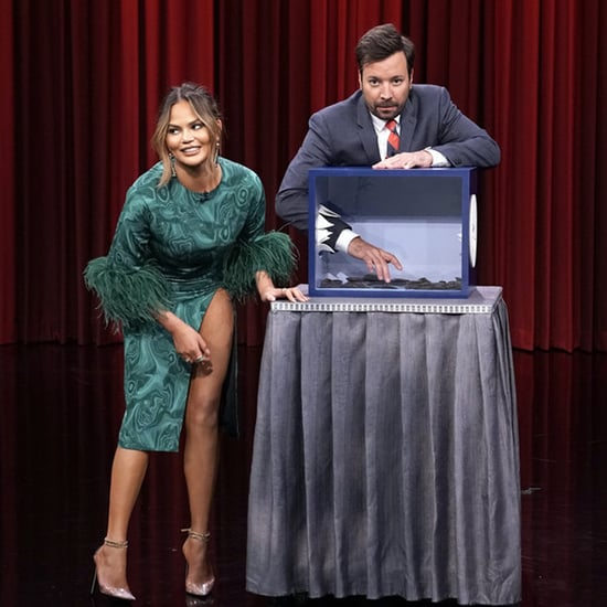 "Chrissy Teigen Plays ""Can You Feel It?"" on The Tonight Show"