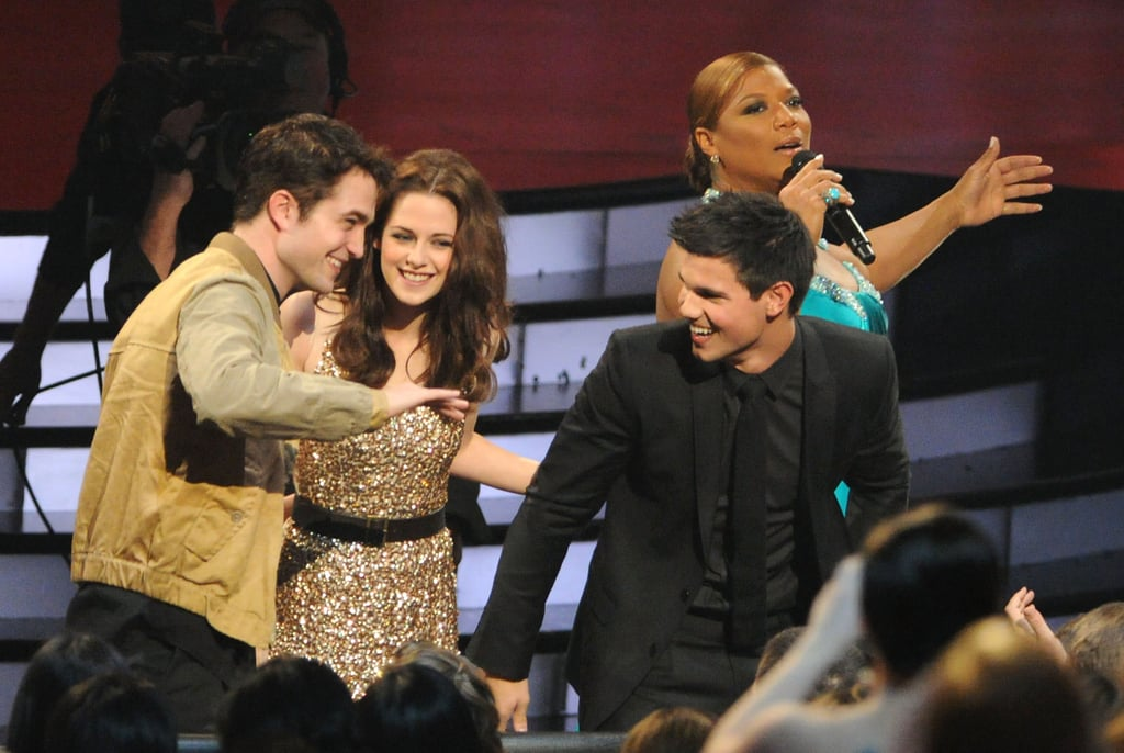 Robert Pattinson, Kristen Stewart, and Taylor Lautner at ...