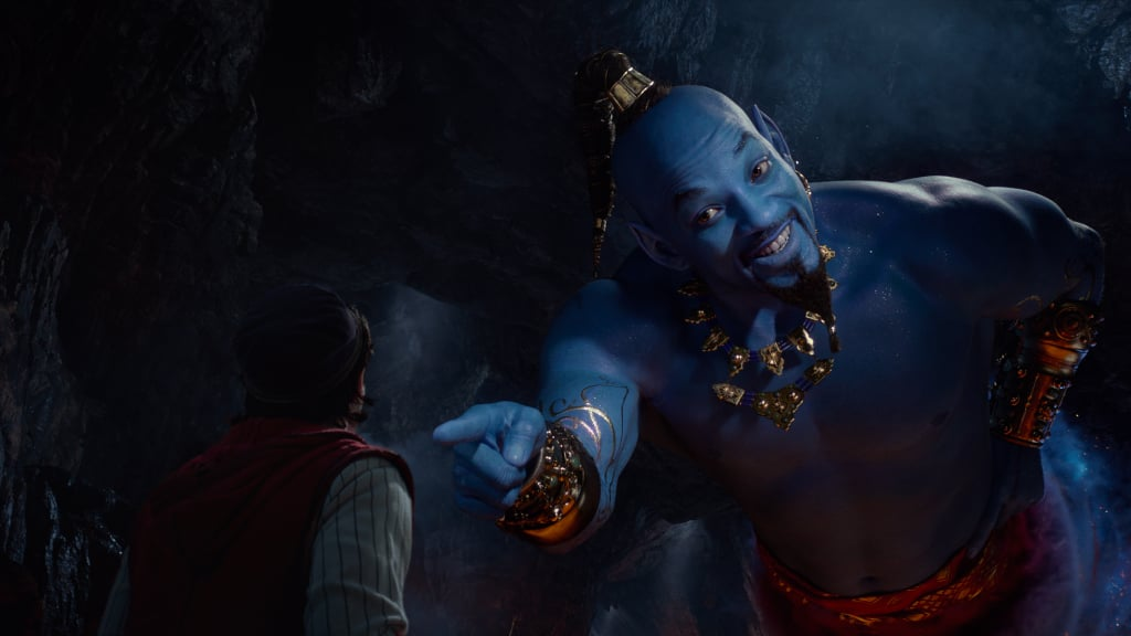 "Will Smith is taking on the role of a lifetime as the Genie in Disney's live-action Aladdin, but he almost turned down the part. During an appearance on The Ellen DeGeneres Show on Tuesday with his costars Mena Massoud and Naomi Scott, the 50-year-old actor explained that he was hesitant about taking on the part because of how great the late Robin Williams was in the animated film. ""Robin Williams like smashed that thing,"" he told the host.  Though he eventually changed his mind about playing the character, he was adamant to make the Genie his own. While Williams used his stand-up persona for the role, Smith took inspiration from one of his most famous roles to date: The Fresh Prince of Bel-Air. In fact, it actually inspired how he sang the music in the film. See the rest of the interview above!       Related:                                                                                                           See What the Live-Action Aladdin Actors Look Like Next to Their Cartoon Counterparts"
