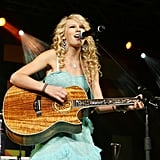 """2006: Taylor Swift Released Her First Single, """"Tim McGraw"""""""