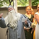 Of Course Professor Dumbledore Officiated the Wedding