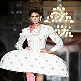 Kaia Gerber on the Moschino Fall 2020 Runway at Milan Fashion Week