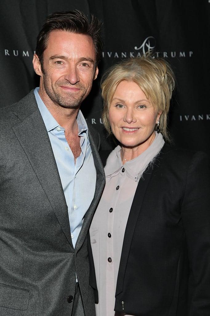 Hugh Jackman and Deborah Furness