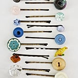 Button Hairpins