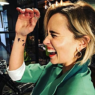 Emilia Clarke's Game of Thrones Tattoo