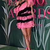 Anna Dello Russo at The Green Carpet Fashion Awards 2019