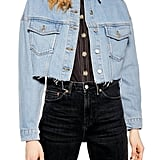 Topshop Tilda Hack Denim Jacket