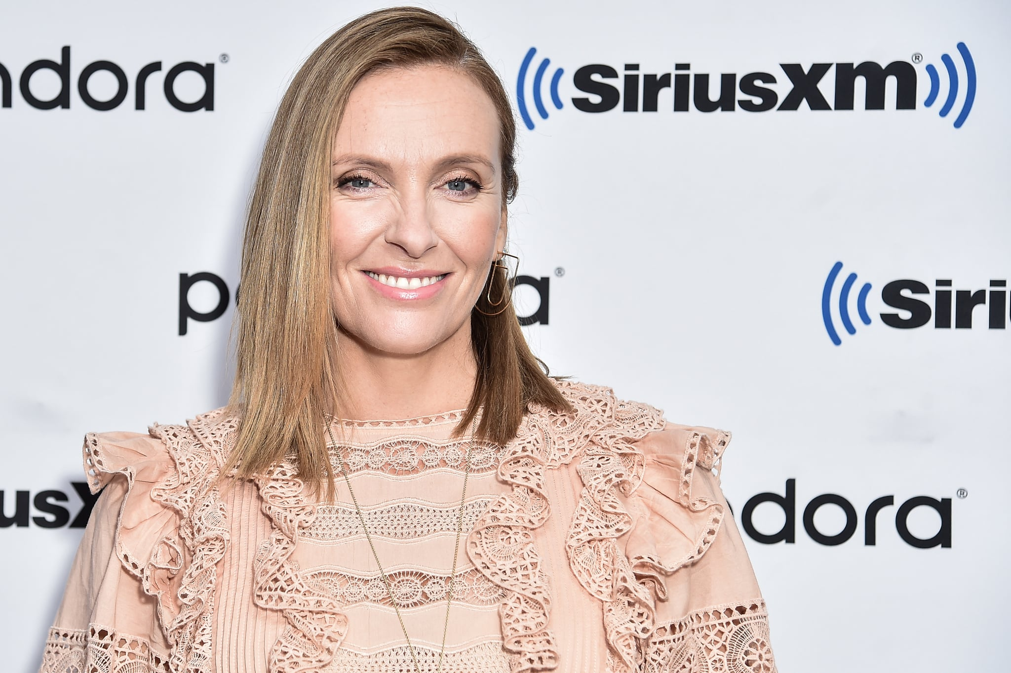 NEW YORK, NEW YORK - SEPTEMBER 10: (EXCLUSIVE COVERAGE) Toni Collette visits SiriusXM Studios on September 10, 2019 in New York City. (Photo by Steven Ferdman/Getty Images)