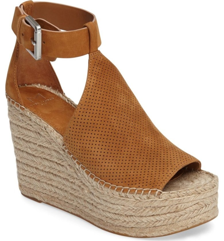 aaef3f6e772 Marc Fisher LTD Annie Perforated Espadrille Platform Wedge | Summer ...