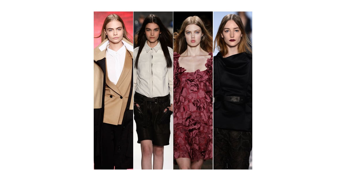 2013 Winter Hair Trends From New York Fashion Week Popsugar Beauty Australia