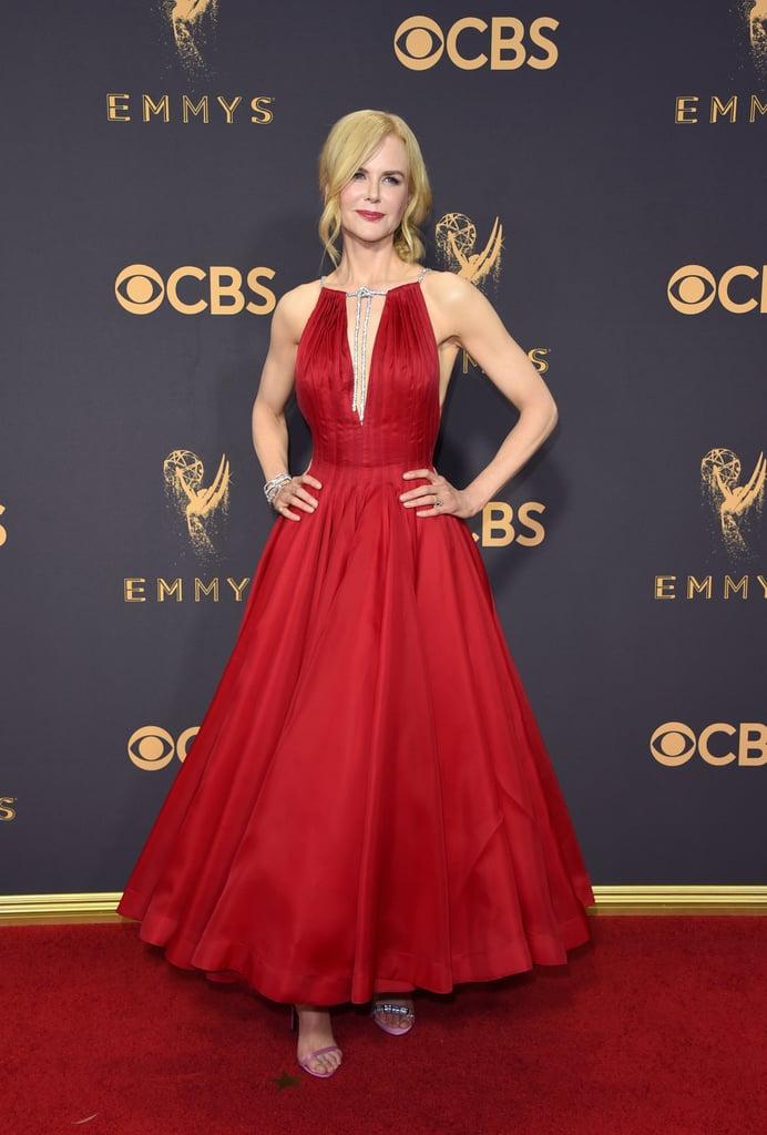 Nicole Kidman Wearing Calvin Klein Heels at 2017 Emmys