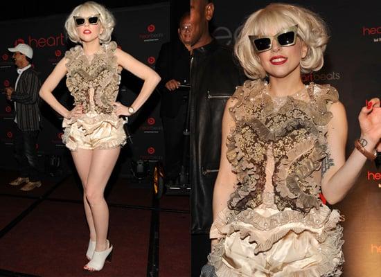 Photos of Lady Gaga in Alexander Wang Sunglasses in New York City