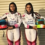 Sisters Hamda and Amna Al Qubaisi become the UAE's youngest pro female race car drivers