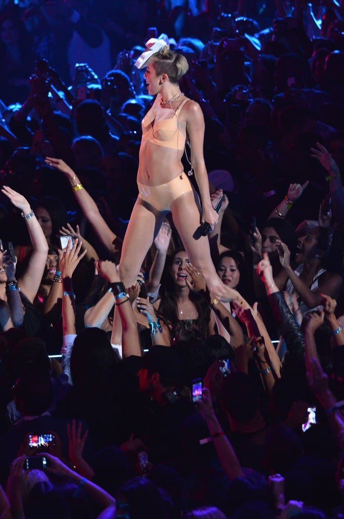 Miley Cyrus at the MTV VMAs 2013   Pictures