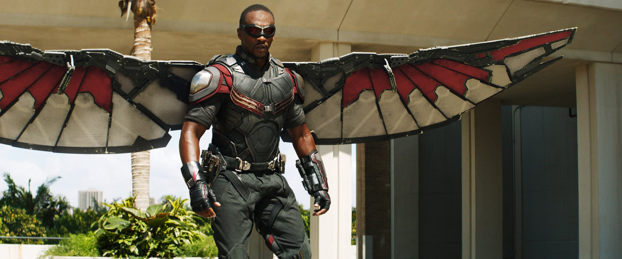 CAPTAIN AMERICA: CIVIL WAR, Anthony Mackie, as Falcon, 2016. / TM &  2016 Marvel. All rights reserved. /  Walt Disney Studios Motion Pictures / courtesy Everett Collection