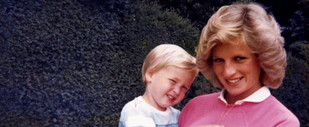 William and Harry Release New Photos With Diana Ahead of the 20th Anniversary of Her Death