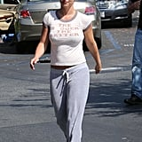 Britney Spears Sends a Message in Her Tight Tee