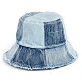 BCBG Patched Denim Bucket Hat