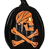 Disney Pirates of the Caribbean Skull and Crossbones Light Up Pumpkin