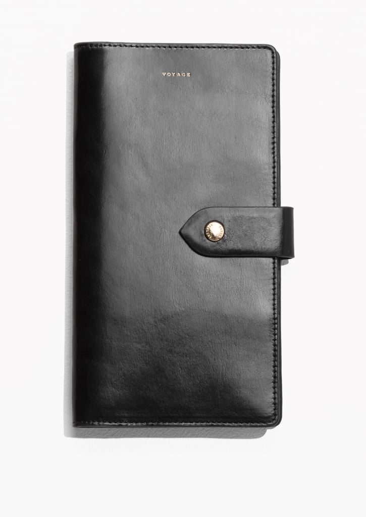 & Other Stories Leather Travel Wallet