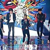 One Direction Performing at the Brit Awards in 2013